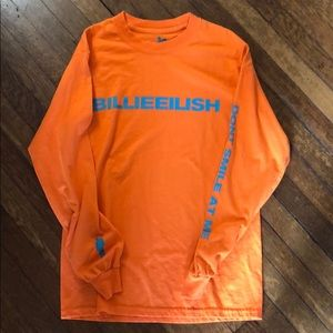 Billie Eilish Long Sleeve Concert T-shirt